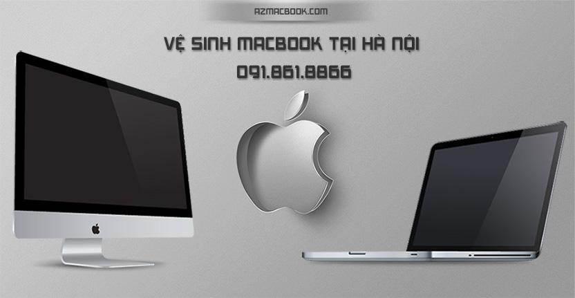 vệ sinh macbook tại hà nội